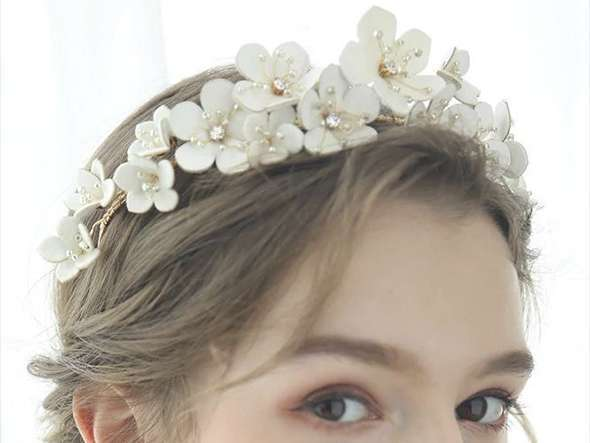 How much is a real flower crown?